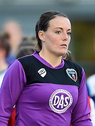 Hannah Reid of Bristol Academy Women - Mandatory by-line: Paul Knight/JMP - Mobile: 07966 386802 - 29/08/2015 -  FOOTBALL - Stoke Gifford Stadium - Bristol, England -  Bristol Academy Women v Birmingham City Ladies FC - FA WSL Continental Tyres Cup