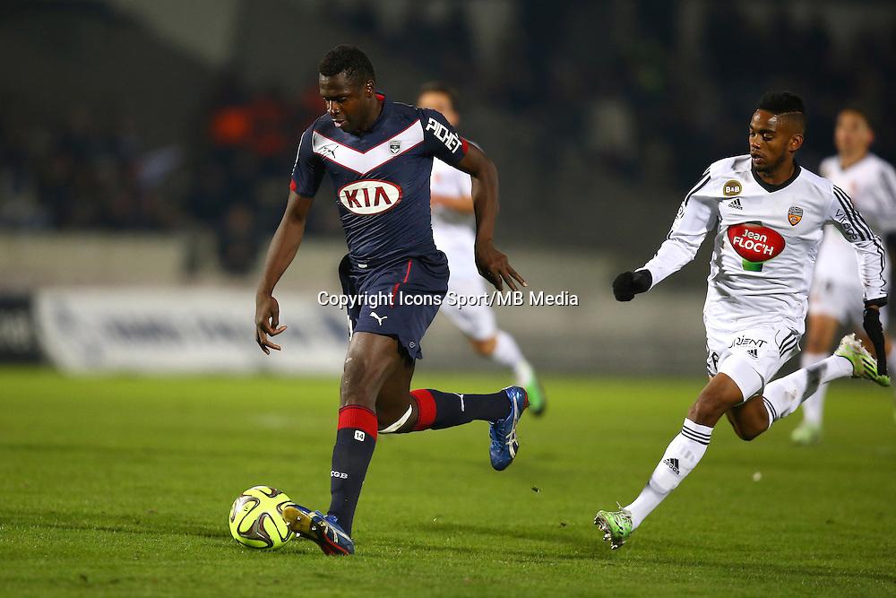 Cheick Diabate - 06.12.2014 - Bordeaux / Lorient - 17eme journee de Ligue 1 -<br />Photo : Manuel Blondeau / Icon Sport