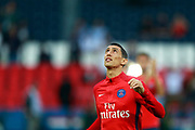 Paris Saint Germain's Argentinian forward Angel Di Maria looks up before the French championship L1 football match between Paris Saint-Germain (PSG) and Saint-Etienne (ASSE), on August 25, 2017 at the Parc des Princes in Paris, France - Photo Benjamin Cremel / ProSportsImages / DPPI