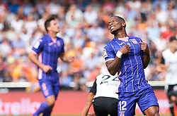 November 4, 2017 - Valencia, Valencia, Spain - Claudio Beauvue of Club Deportivo Leganes reacts during the La Liga match between Valencia CF and Club Deportivo Leganes at Estadio Mestalla, on november 4, 2017 in Valencia, Spain. (Credit Image: © Maria Jose Segovia/NurPhoto via ZUMA Press)