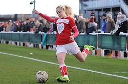Poppy Pattinson of Bristol City in action - Mandatory by-line: Nizaam Jones/JMP - 27/01/2019 - FOOTBALL - Stoke Gifford Stadium - Bristol, England - Bristol City Women v Yeovil Town Ladies- FA Women's Super League 1
