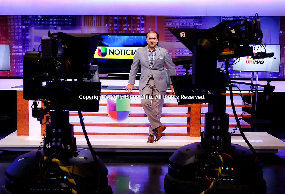 Luis Patino, President, Univision Los Angeles(Photo by Ringo Chiu)<br /> <br /> Usage Notes: This content is intended for editorial use only. For other uses, additional clearances may be required.