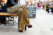 Leopard Pants and Red Velvet Shoes, Outside JW Anderson SS2017