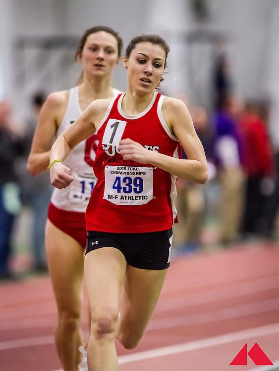 ECAC Indoor Champs, womens 1000 heats, Vanpelt, Stephanie        JR St. John's