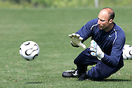 17 May 2006: Goalkeeper Kasey Keller. The United States' Men's National Team trained at SAS Soccer Park in Cary, NC, in preparation for the 2006 World Cup tournament to be played in Germany from June 9 through July 9, 2006.