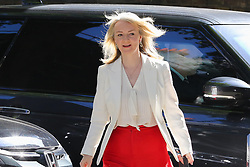 © Licensed to London News Pictures. 14/05/2019. London, UK. Liz Truss - Chief Secretary to the Treasury arrives in Downing Street for the weekly Cabinet meeting. Photo credit: Dinendra Haria/LNP