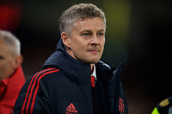 CARDIFF, WALES - Saturday, December 22, 2018: Manchester United's new manager Ole Gunnar Solskjær before the FA Premier League match between Cardiff City FC and Manchester United FC at the Cardiff City Stadium. (Pic by Vegard Grott/Propaganda)