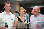 Heath Mackay, Naomi Horton & Mark Johnson. RLB 40th Birthday, Hilton. Photo Shane Eecen Creative Light Studios