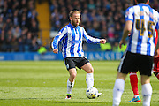 Sheffield Wednesday midfielder Barry Bannan (41) during the Sky Bet Championship match between Sheffield Wednesday and Cardiff City at Hillsborough, Sheffield, England on 30 April 2016. Photo by Phil Duncan.
