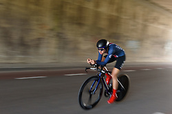 Tayler Wiles at Boels Rental Ladies Tour Stage 3 a 16.9 km individual time trial in Roosendaal, Netherlands on August 31, 2017. (Photo by Sean Robinson/Velofocus)