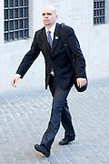 2013/04/19 Roma, arrivo dei grandi elettori in Parlamento, per la terza giornata di votazioni per l'elezione del Presidente della Repubblica. Nella foto Massimo Enrico Baroni.<br /> Rome, arrivals of electors to Parliament, for the second election day of the President of the Republic. In the picture Massimo Enrico Baroni - &copy; PIERPAOLO SCAVUZZO