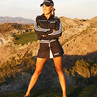 Mar 2, 2006; Las Vegas, NV, USA;.Portraits of Natalie Gulbis at the Lake Las Vegas Resort..Photo by Preston C. Mack