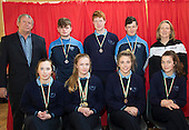 Ramsgrange Community School County athletics medal winners