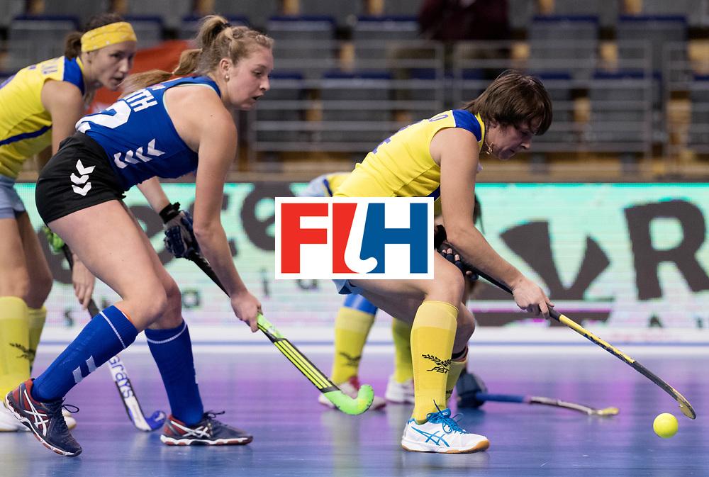 BERLIN - Indoor Hockey World Cup<br /> Women: United States - Kazakhstan<br /> foto: <br /> WORLDSPORTPICS COPYRIGHT FRANK UIJLENBROEK