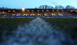 A general view of the Energy Check Stadium at Gigg Lane home of Bury - Mandatory by-line: Joe Dent/JMP - 13/03/2018 - FOOTBALL - Gigg Lane - Bury, England - Bury v Peterborough United - Sky Bet League One