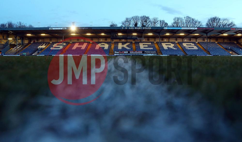 A general view of the Energy Check Stadium at Gigg Lane home of Bury - Mandatory by-line: Joe Dent/JMP - 13/03/2018 - FOOTBALL - Gigg Lane - Bury, England - Bury v Peterborough United - Sky Bet League One