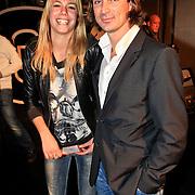 NLD/Amsterdam/20101029 - Premiere Jackass 3D, Nicolette Kluijver en partner Joost