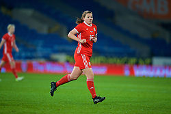 CARDIFF, WALES - Friday, November 24, 2017: Wales' Alice Griffiths during the FIFA Women's World Cup 2019 Qualifying Round Group 1 match between Wales and Kazakhstan at the Cardiff City Stadium. (Pic by David Rawcliffe/Propaganda)