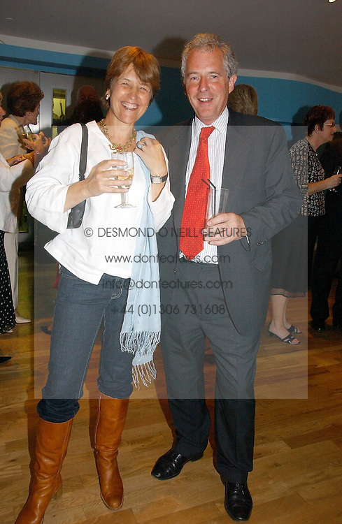 LORD & LADY WALDEGRAVE at a party to celebrate the publication of Glass Houses by Sandra Howard held at Tamesa, Oxo Tower Wharf, Barge House Street, London SE1 on 5th September 2006.<br /><br />NON EXCLUSIVE - WORLD RIGHTS