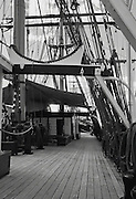 Three masted sailing barque James Craig , Sydney Australia