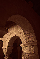 archways at The Cloisters in New York City