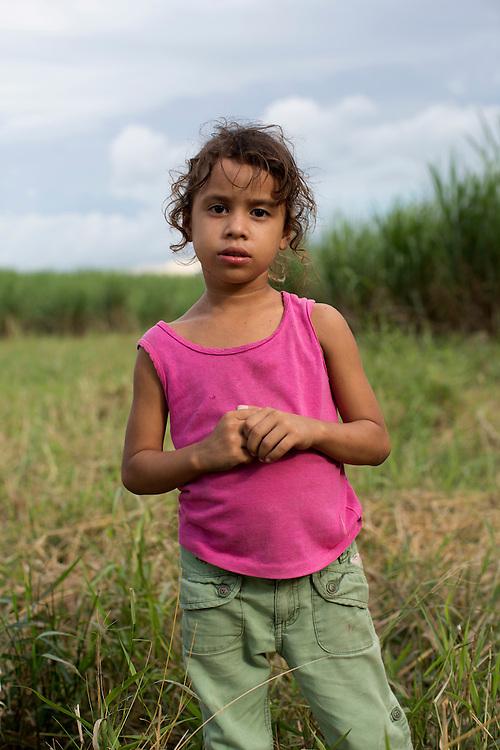 San Pedro Sula, Honduras<br /> <br /> Emilio f&ouml;dd 2 maj1997 hittas d&ouml;d p&aring; ett sockerr&ouml;r f&auml;lt i Villa Nueva utanf&ouml;r San Pedro Sula. Han har avr&auml;ttats med 15 skott i huvudet och sedan sl&auml;pats in bland sockerr&ouml;ren. Han var medlem i gruppen MS13 men misst&auml;nktes ha stulit tv&aring; kilo kokain fr&aring;n sina egna.<br /> Nyfikna arbetare tittar p&aring; medan polisen g&ouml;r sin plats unders&ouml;kning.<br /> <br /> Photo: Niclas Hammarstr&ouml;m