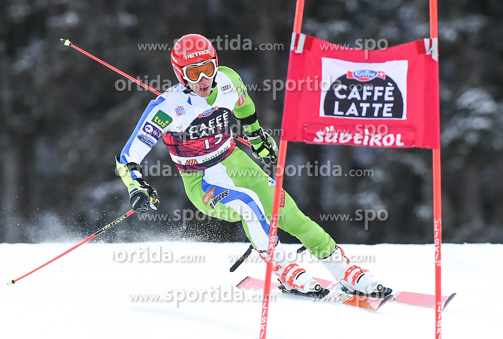17.12.2017, Grand Risa, La Villa, ITA, FIS Weltcup Ski Alpin, Alta Badia, Riesenslalom, Herren, 1. Lauf, im Bild Zan Kranjec (SLO) // Zan Kranjec of Slovenia in action during his 1st run of men's Giant Slalom of FIS ski alpine world cup at the Grand Risa in La Villa, Italy on 2017/12/17. EXPA Pictures © 2017, PhotoCredit: EXPA/ Erich Spiess