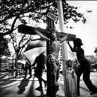 DAILY VENEZUELA / VENEZUELA COTIDIANA.Achaguas Nazarene / Nazareno de Achaguas, Achaguas, Apure State - Venezuela 2002. (Copyright © Aaron Sosa)