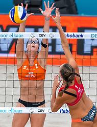 20-07-2018 NED: CEV DELA Beach Volleyball European Championship day 6<br /> Madelein Meppelink NED #2