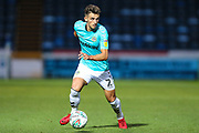 Forest Green Rovers Liam Shephard(2) runs forward during the 2nd round of the Carabao EFL Cup match between Wycombe Wanderers and Forest Green Rovers at Adams Park, High Wycombe, England on 28 August 2018.