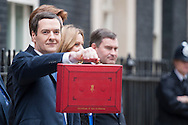 Chancellor of the Exchequer GEORGE OSBORNE presents his fifth Budget against a backdrop of a strengthening economic recovery, unemployment and inflation falling and growth this year expected to be the among the strongest of any Western economy.