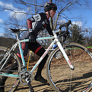 Abigail Isolda in action during the Cyclo-Cross, Supercross Cup 2013 UCI Weekend at the Anthony Wayne Recreation Area, Stony Point, New York. USA. 24th November 2013. Photo Tim Clayton