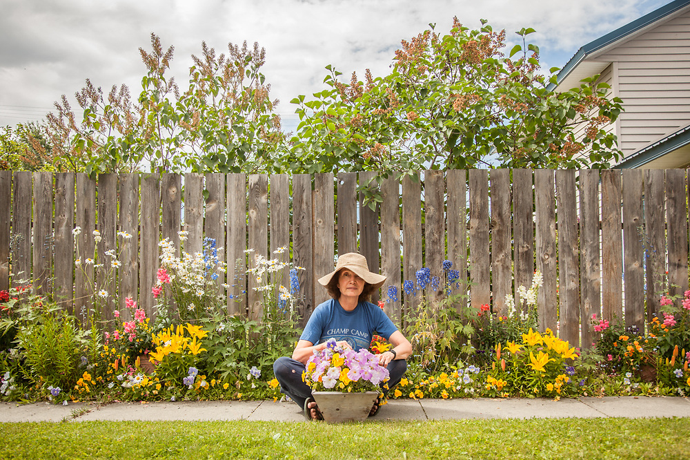 South Addition Neighbor and master gardener, Deborah Williams