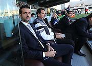 Udine, 26 ottobre 2014.<br /> Serie A 2014/2015 8^ giornata. <br /> Stadio Friuli.<br /> Udinese vs Atalanta<br /> Nella foto: l'allenatore dell'Udinese Andrea Stramaccioni.<br /> © foto di Simone Ferraro