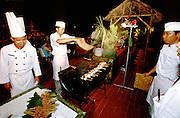 Jimbaran Beach. Satay dinner at Keraton Bali Hotel.