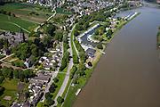 Nederland, Limburg, Gemeente Maastricht, 27-05-2013; Maastricht Sint-Pieter.<br /> Rijkswaterstaat meet het Maaspeil op verschillende plaatsen in de Maas en hier in beeld meetpunt SInt Pieter (vervangt het vroegere meetpunt bij Borgharen) .<br /> Department of Public Works measures the level of the Maas (Meuse) at different places in the river.<br /> luchtfoto (toeslag op standaardtarieven);<br /> aerial photo (additional fee required);<br /> copyright foto/photo Siebe Swart.
