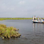 Weekend fishing trip in the wetlands south of New Orleans, LA. Photo by Lori Waselchuk