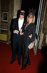 RUPERT ADAMS and his wife NADJA SWAROVSKI  at the 2006 Moet & Chandon Fashion Tribute in honour of photographer Nick Knight, held at Strawberry Hill House, Twickenham, Middlesex on 24th October 2006.<br />