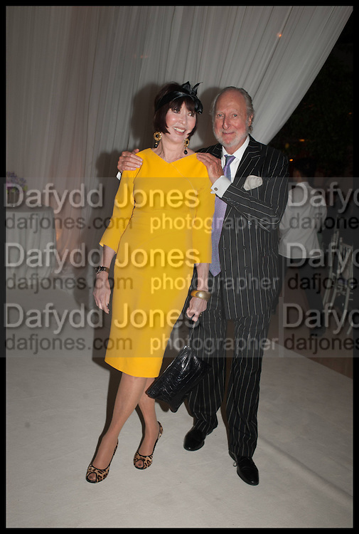 CAROL VICTOR; ED VICTOR, Cartier dinner in celebration of the Chelsea Flower Show. The Palm Court at the Hurlingham Club, London. 19 May 2014.