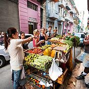 03/10/2017  OLD HAVANA, CUBA    A man sells fruit on the street in Old Havana, Cuba.  (Aram Boghosian for The New Orleans Advocate)