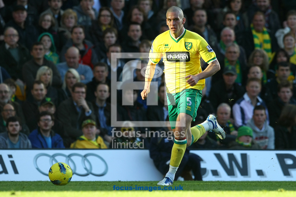 Picture by Paul Chesterton/Focus Images Ltd.  07904 640267.19/11/11.Steve Morison of Norwich in action during the Barclays Premier League match at Carrow Road stadium, Norwich.
