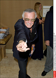 © Giulio Marcocchi/ABACA. 35504-17. Los Angeles-CA- USA, 10/06/2002. Stan Lee attends the 28th Annual Saturn Awards at The St Regis Hotel in Beverly Hills.