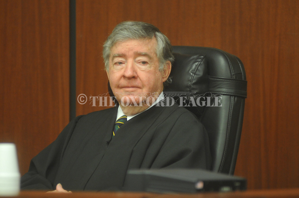Judge Neal Biggers at a Naturalization Ceremony at the U.S. District Court in Oxford, Miss. on Friday, February 25, 2011. Fifty people from 19 countries took the oath of citizenship.