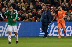 12-11-2014 NED: Oefenwedstrijd Nederland - Mexico, Amsterdam<br /> Nederland verliest met 3-2 van Mexico /  /