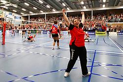 20150425 NED: Eredivisie VC Sneek - Eurosped, Sneek<br />VC Sneek Nederlands Kampioen 2014 - 2015, Petra Groenland<br />©2015-FotoHoogendoorn.nl / Pim Waslander