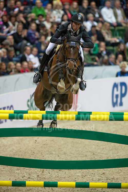 Steve Guerdat (SUI) & Nino des Buissonnets - Rolex FEI World Cup Jumping Final 2 - Gothenburg Horse Show 2013 - Scandinavium, Gothenburg, Sweden - 26 April 2013