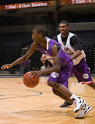 P/WF Michael Gilchrist (Elizabeth, NJ / St. Patrick).  The NBA Player's Association held their annual Top 100 basketball camp at the John Paul Jones Arena on the Grounds of the University of Virginia in Charlottesville, VA on June 20, 2008