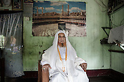 Ziad Ul Haq is the most important spiritual leader of the Rohingya , imam of the largest mosque in Rakhine state , the Juma Mosque , closed by the government . &quot;I am a refugee in my house ,&quot; said the imam .<br />Sittwe, Myanmar July 2016 @Giulio Di Sturco