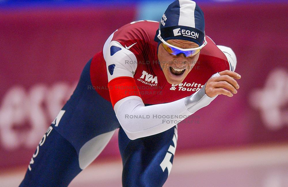 05-01-2003 NED: Europees Kampioenschappen Allround, Heerenveen<br /> 10000 m / Rintje Ritsma