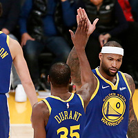 01-21 GOLDEN STATE WARRIORS AT LA LAKERS